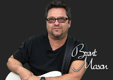 Brent Mason In Studio