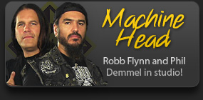 Machine Head In Studio