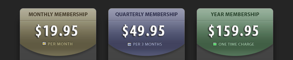 JamPlay Pricing Info, $19.95 Monthly, $49.95 Quarterly, $159.95 Yearly