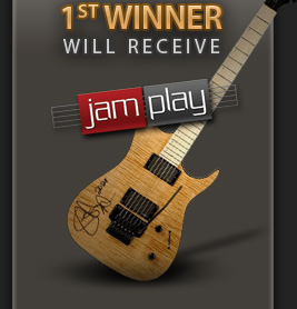 1st Winner - Godin Guitar and 12 Months to JamPlay.com!