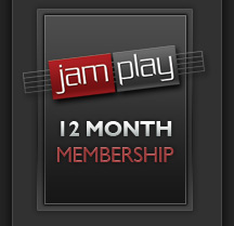 12 Month Membership to JamPlay
