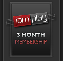 3 Month Membership to JamPlay