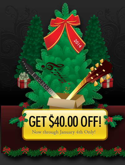 Christmas at JamPlay!  Save $40 Instantly!