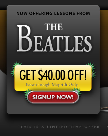 Save $40 with the Beatles!