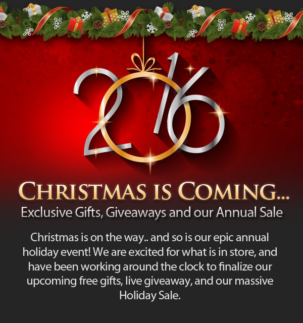 Christmas at JamPlay is Coming