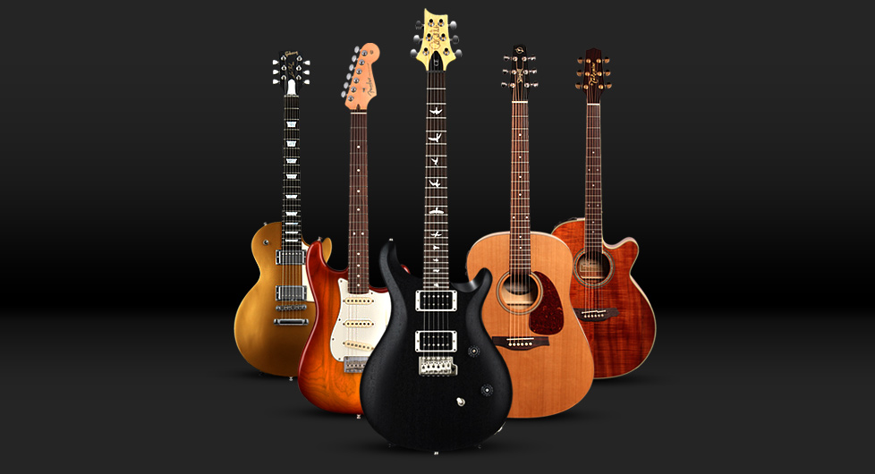 We review Fender, Martin, PRS, Gibson, Ibanez, Guild, and alot more.
