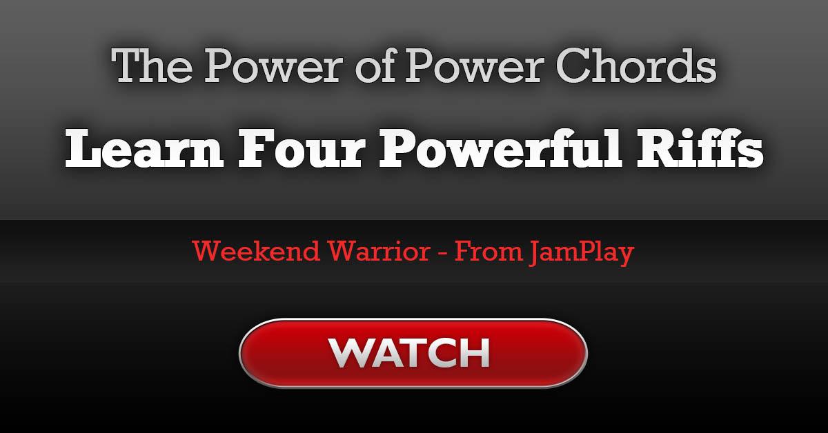 The Power Of Power Chords 4 Insane Guitar Riffs