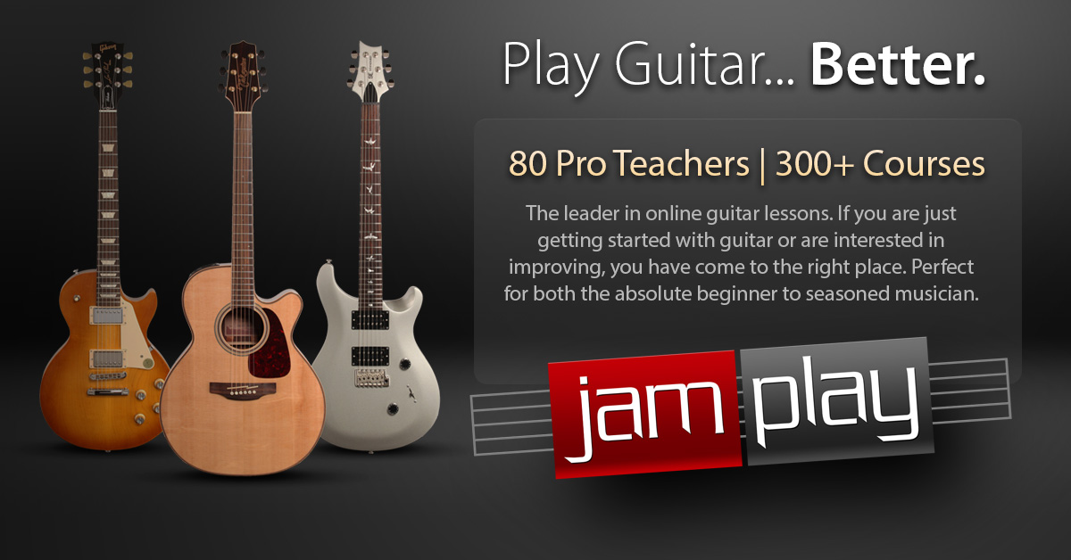 Online Guitar Lessons Learn From 85 Teachers Jamplay
