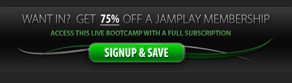 Get 75% Off and Access this Bootcamp!