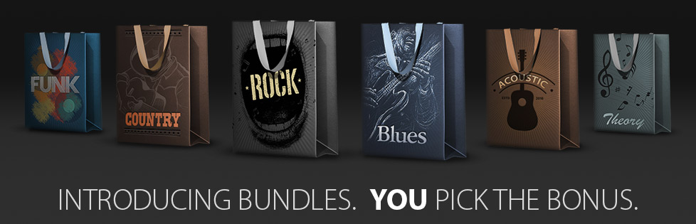 Introducing Bundles, You Pick the Bonus