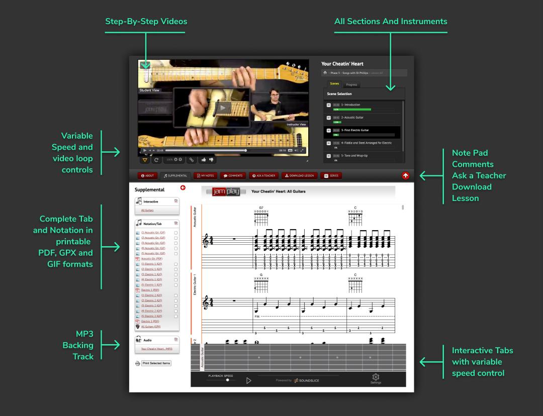 Song Lesson Screenshot