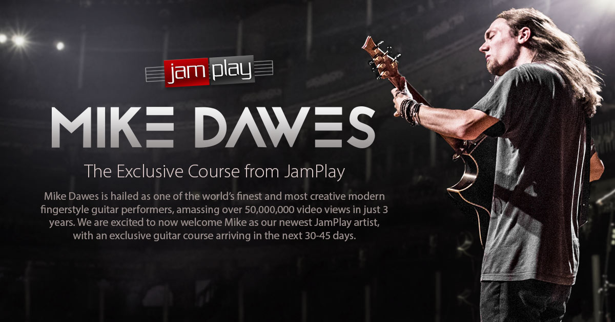 Mike Dawes Guitar Lessons Fingerstyle Master Course