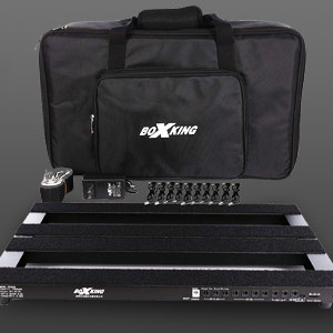 BOXKING Rechargeable Pedalboard