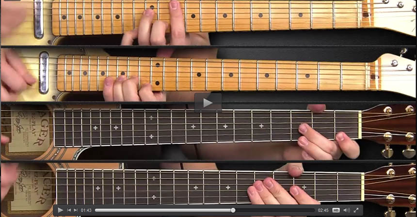 Three Groovy Guitar Licks Straight out of New Orleans